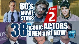 80's Movie Stars : 38 Iconic Actors Nowadays | Hollywood Moviestars Then And Now