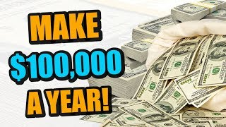 How To Make $100,000 A Year Off Of Your Music