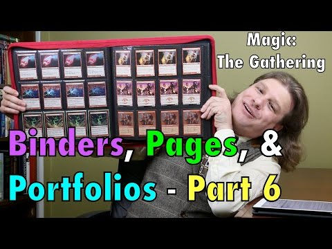 MTG - The Best Binders and Portfolios 6: BCW, Ultra Pro for Magic: The Gathering, Pokemon and More!