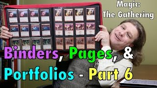 mtg the best binders and portfolios 6 bcw ultra pro for magic the gathering pokemon and more