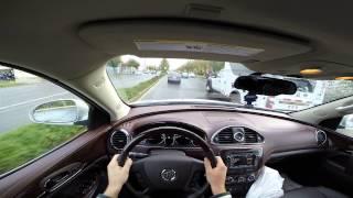 2014 Buick Enclave Tru-POV Test Drive 60 FPS