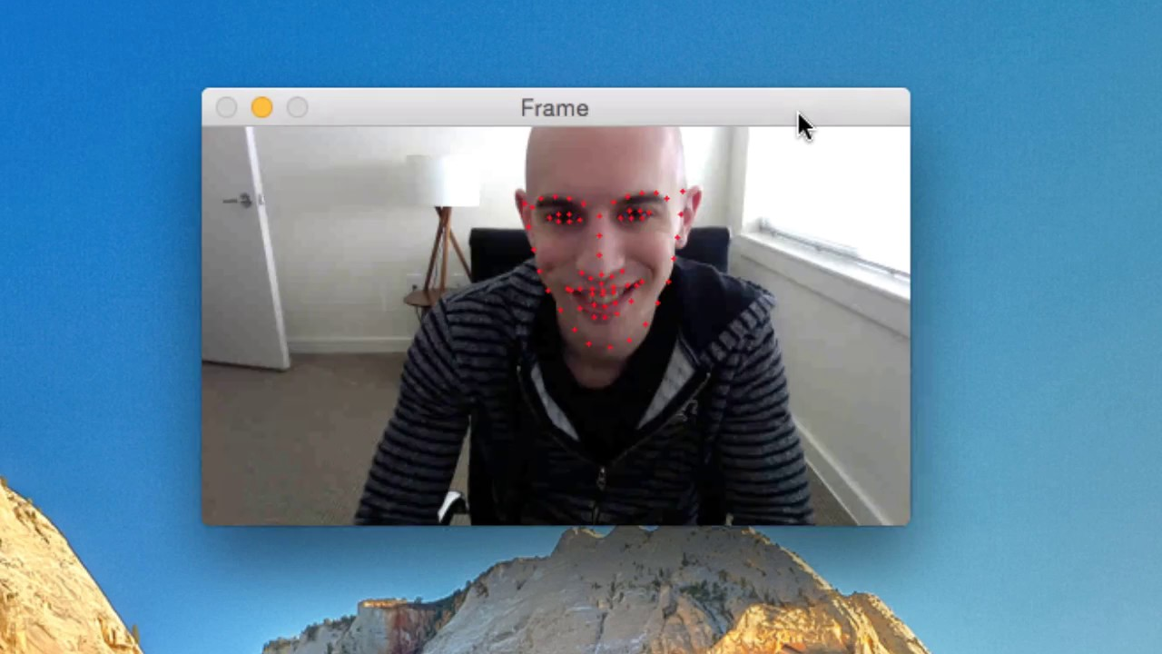 Real-time facial landmark detection with OpenCV, Python, and dlib