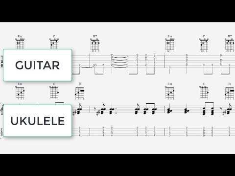 Havana - Ukulele - Guitar Chords - Ukulele Tab 7 Notes