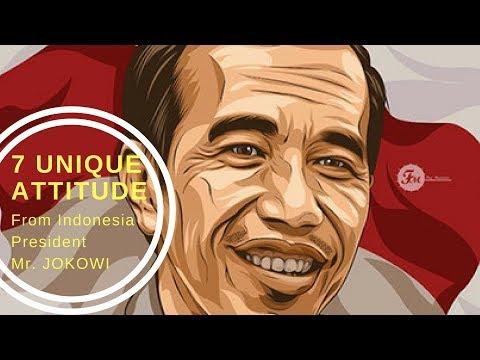 7 Unique Attitude of Indonesia President, Mr. Jokowi