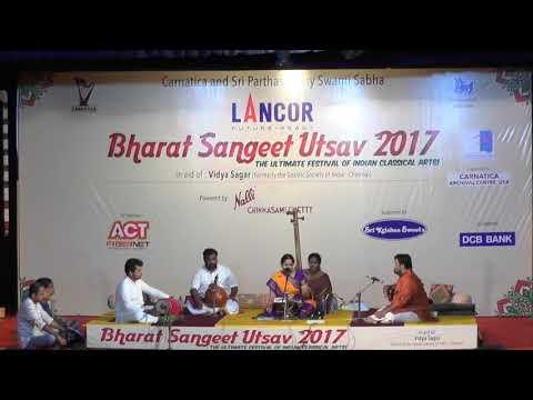 Vishaka Hari l Geetharthamu Sangeerthanandamu l Harikatha l Bharat Sangeet Utsav 2017