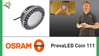 OSRAM PrevaLED COIN 111 AC - Ersatz der OSRAM HCI/Philips CDM [watt24-Video Nr. 145]