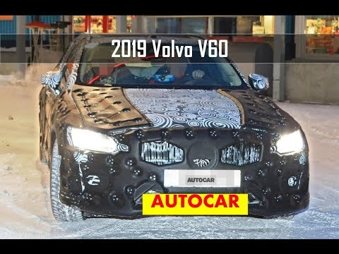 2019 Volvo V60 Winter Testing for Geneva Motor Show FIRST LOOK
