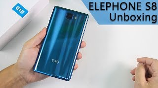 ELEPHONE S8 Unboxing & Hands_on video