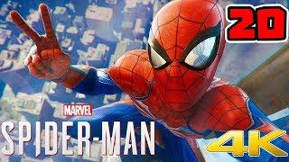 Spider-Man PL (20) - WALKA Z RHINO I SKORPIONEM!! [PS4 PRO] | 4K | Vertez