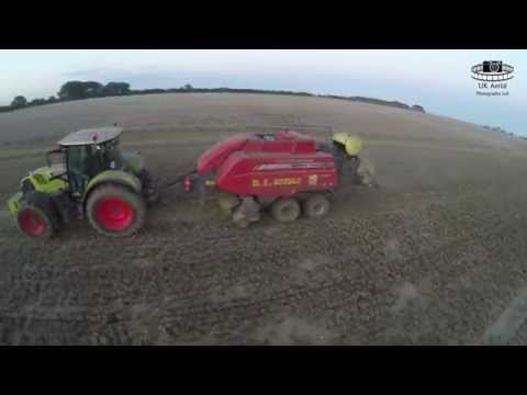 D E Keeble Contractors - Mini Hesston Baling