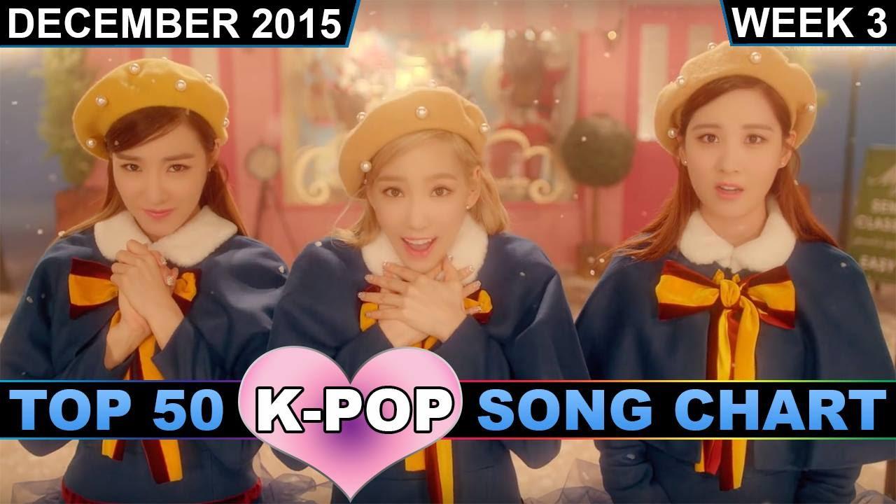 Pop song chart top 50 december 2015 week 3 youtube