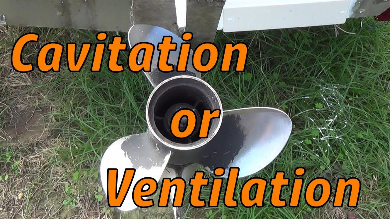 The effects of Cavitation - Ventilation