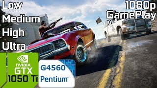 Far Cry 5 [PC] Low vs Medium vs High vs Ultra with GTX 1050 Ti & Intel Pentium G4560