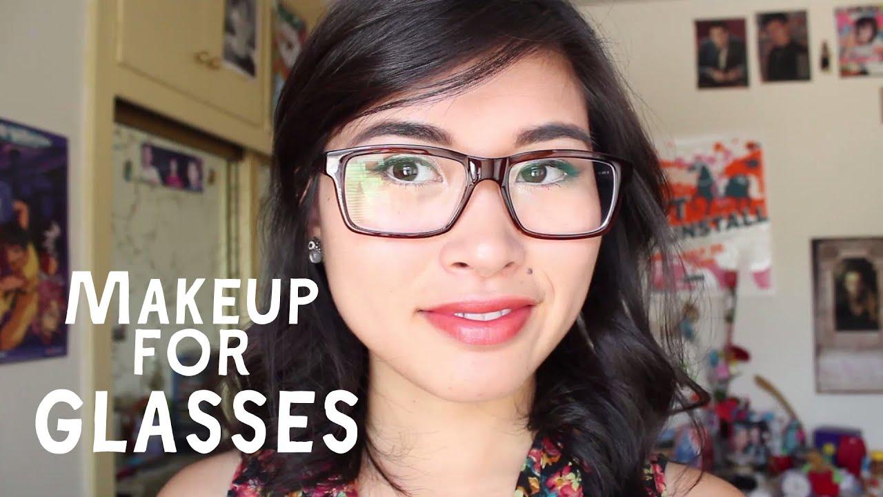 Makeup For Glasses: Winged Eyeliner  Cr0ssb0x