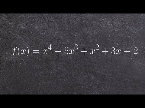 Learn how to use Descartes rule of signs and the fundamental theorem of algebra