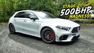 THIS *500BHP TUNED* MERC A45S HAS DEVASTATING ACCELERATION!