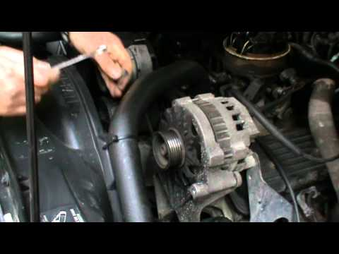 Alternator Replacement Part3 Chevrolet Blazer Gmc Jimmy 93 Engine