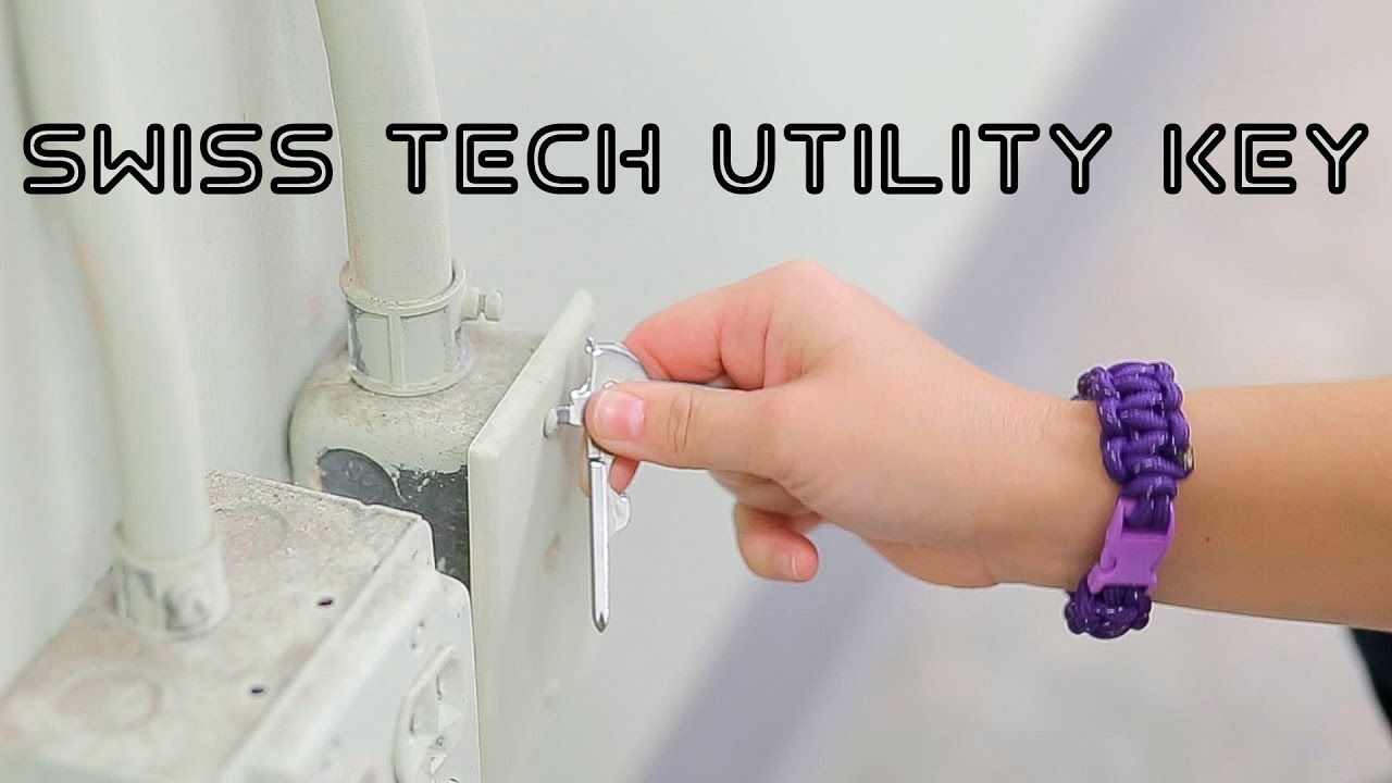 swiss tech utility key  Swiss Tech Utility Key - ODB Closer Look - YouTube