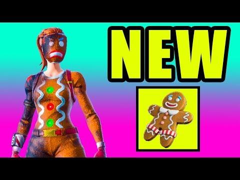 NEW Ginger Gunner Skin Styles & Backbling! 🎄 Fortnite Season 7 Gameplay Live thumbnail