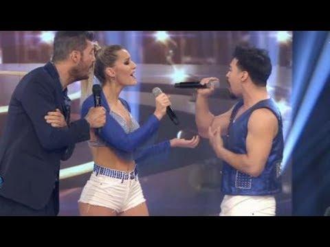 Mica Viciconte desafió a La Bomba y cantó a dúo con Moliniers