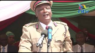 Tough-talking Embu County Commissioner lectures MCAs on manners|| #JamhuriDay2019