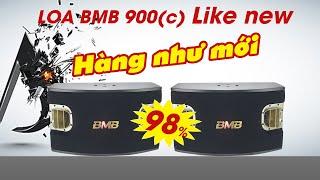 Hát thử Loa BMB CSV 900 (C) Bass 30cm Giá 15tr900 mới tới 98% BH: 1 năm