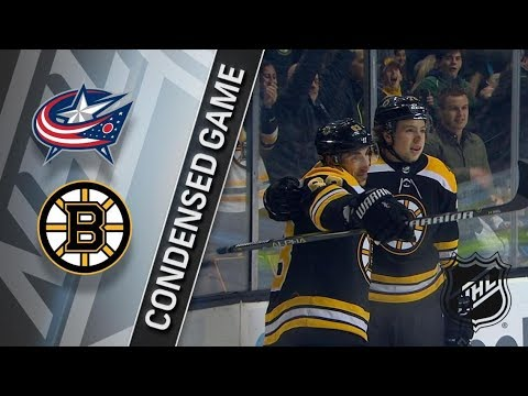 Columbus Blue Jackets vs Boston Bruins – Dec. 18, 2017 | Game Highlights | NHL 2017/18. Обзор матча