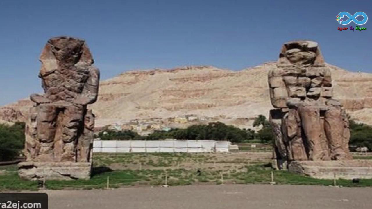 نتيجة بحث الصور عن شرح النص بين تمثالين