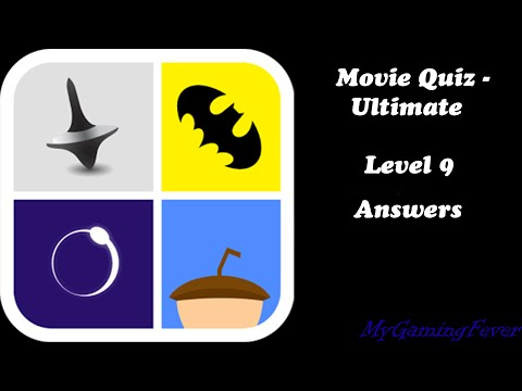 Movie Quiz - Ultimate : Level 9 Answers
