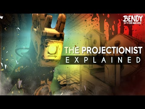 Normans Fate: THE PROJECTIONIST EXPLAINED! (Bendy & the Ink Machine Theories)