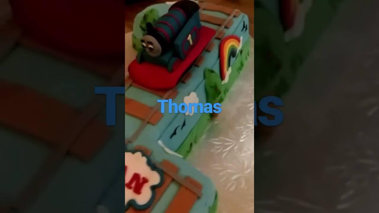 Thomas Birthday Cake Youtube