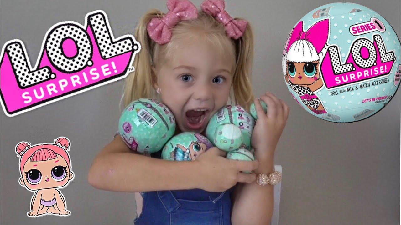 Toys For Girls Lol : Everleigh opens tons of l o surprise dolls youtube