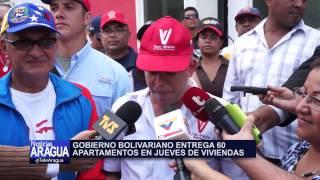 Gobierno Bolivariano entregó 60 apartamentos en Urb. Los Nísperos, municipio Mariño 25-09-14