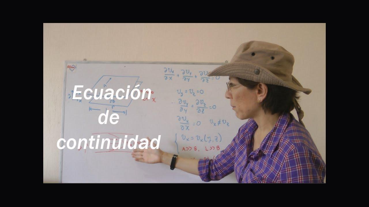8. Ecuación de continuidad en fenómenos de transporte