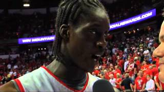 The Mountain West Digital Network chats with New Mexico junior guard Tony Snell