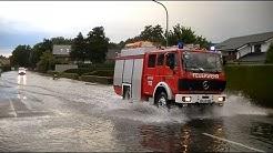 Unwetter in Papenburg 06.09.2013 / Heavy Rain in Papenburg (Germany)