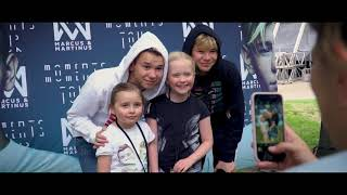 Marcus & Martinus - Moments Tour in Kaisaniemi park, Helsinki