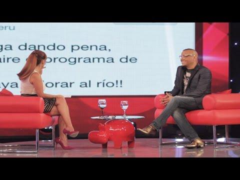 Mira el candente debate entre Magaly y Carlos Cacho