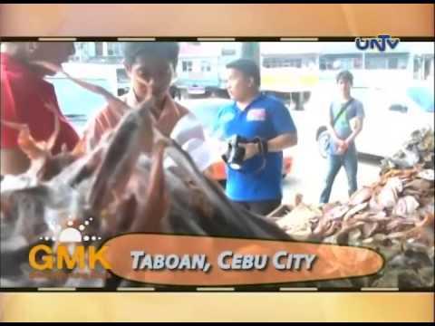 Danggit and Wooden Guitar of Cebu City
