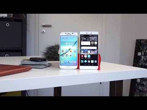 Sony Xperia Z3+ VS Huawei P8