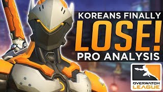 Overwatch: Koreans FINALLY Lose! - Pro Analysis
