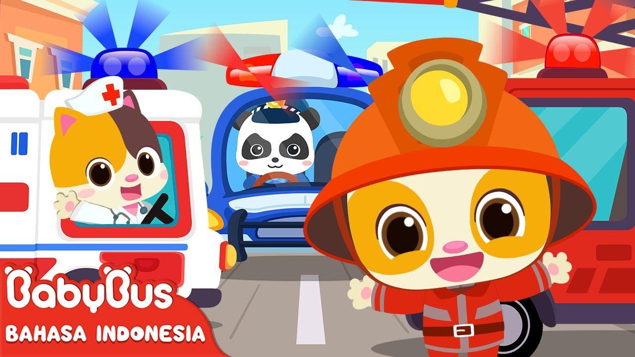 Pekerjaan Apa Yang Kamu Ingin Lakukan Di Masa Depan | Lagu Anak Indonesia | BabyBus Bahasa Indonesia