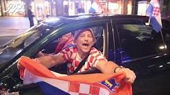 Olé, Viertelfinale! Feiernde Kroatien-Fans legen Verkehr auf Tauentzien lahm