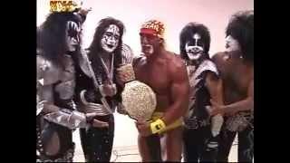 Download Video Hulk Hogan Meets KISS at WCW Monday Night Nitro MP3 3GP MP4
