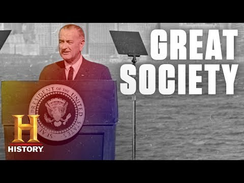"What Were LBJ's ""Great Society"" Programs? 