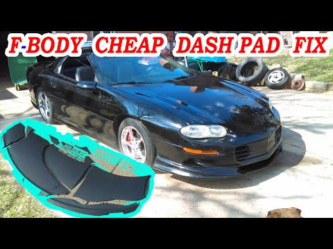 F Body Cheap Dashboard Pad Repair 4th Generation Camaro