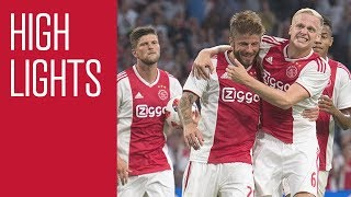 Highlights Ajax - Sturm Graz (Champions League)