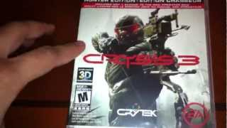 Crysis 3 Early Unboxing PS3 HD