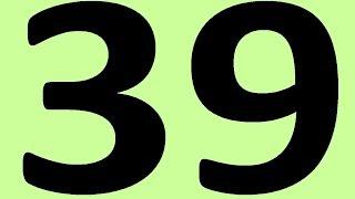 АНГЛИЙСКИЙ ЯЗЫК ДО АВТОМАТИЗМА ЧАСТЬ 2 УРОК 39 УРОКИ АНГЛИЙСКОГО ЯЗЫКА