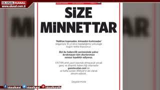 Vatan Gazetesi kapandı screenshot 3